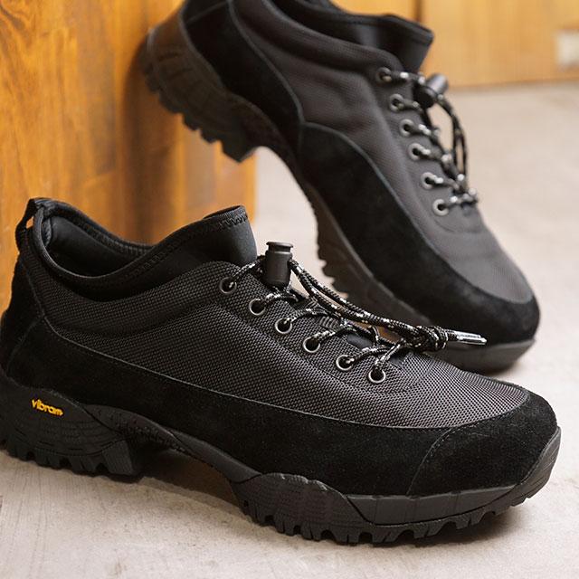 【月間優良ショップ】ヨーク YOAK 国産スニーカー ジャーニー JOURNEY ( SS20) メンズ 日本製 ビブラム アウトドアシューズ 靴 BLACK ブラック系