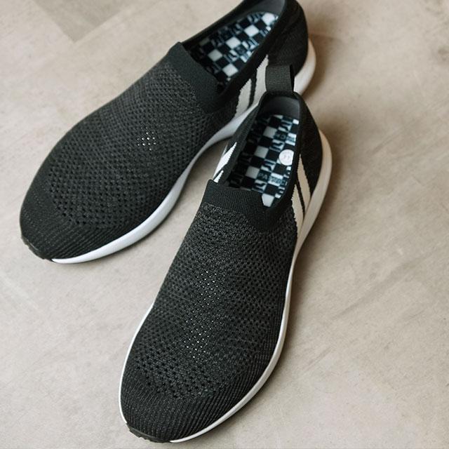 【返品送料無料】パトリック PATRICK スニーカー フィトゥー FITOU (502031 SS20) メンズ・レディース ニットアッパー 日本製 靴 BLK ブラック系