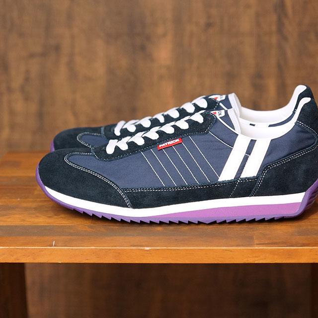 【返品送料無料】パトリック PATRICK スニーカー マラソン MARATHON (942002 SS20) メンズ・レディース 日本製 靴 SAILG パープル系