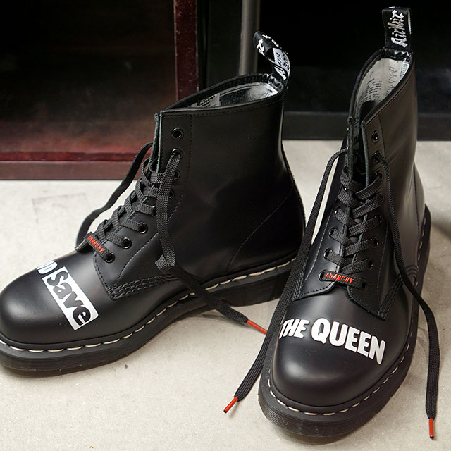 ドクターマーチン Dr.Martens 8ホールブーツ 1460 セックスピストルズ 1460 SEX PISTOLS (25927001 SS20) メンズ・レディース 靴 Black Milled Smooth ブラック系