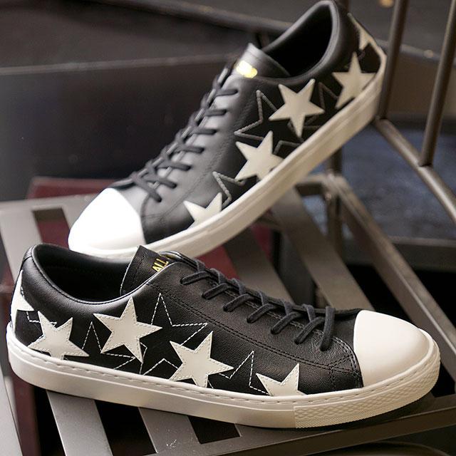 コンバース CONVERSE スニーカー オールスター クップ メニースターズ OX ALL STAR COUPE MANYSTARS OX (31302201 SU20) メンズ・レディース ローカット レザー 靴 BLACK ブラック系