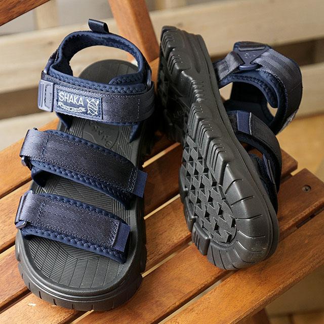 シャカ SHAKA サンダル ネオ バンジー AT NEO BUNGY AT (433146 SS20) メンズ・レディース スポーツサンダル シューズ 靴 NAVY ネイビー系【ts】