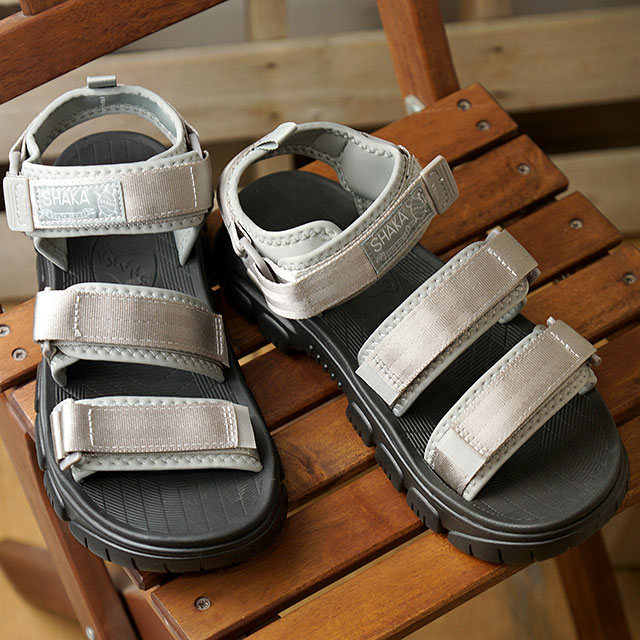 シャカ SHAKA サンダル ネオ バンジー AT NEO BUNGY AT (433146 SS20) メンズ・レディース スポーツサンダル シューズ 靴 GREY グレー系【ts】