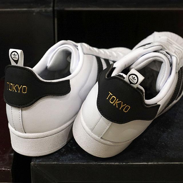 アディダス オリジナルス adidas Originals スニーカー スーパースター 50周年モデル 東京 SUPERSTAR 50th TOKYO (FX7783 SS20Q2) メンズ・レディース 靴 WHITE/BLACK ホワイト系【ts】