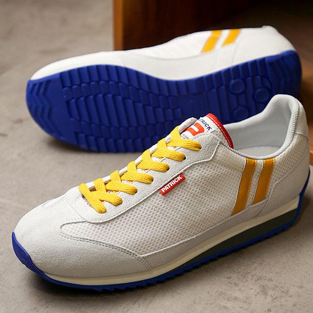 【返品送料無料】パトリック PATRICK スニーカー クール・マラソン C-MARATHON (262010 SS20Q2) メンズ・レディース 日本製 靴 CDY ホワイト系