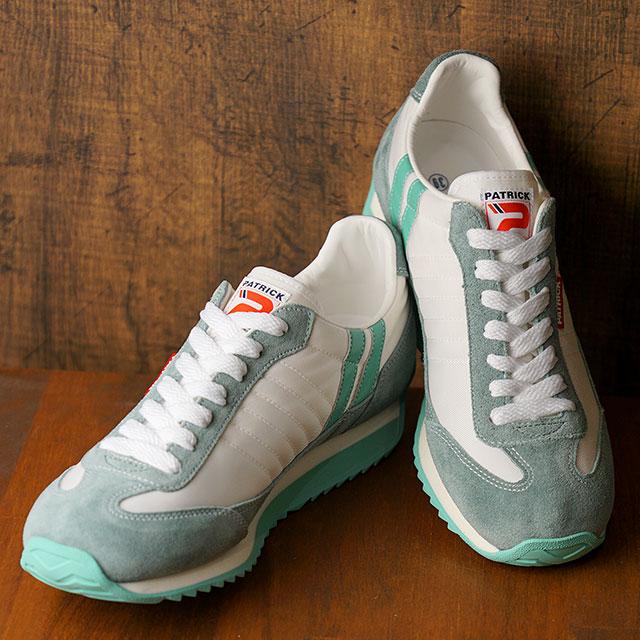 【返品送料無料】【復刻カラー】パトリック PATRICK スニーカー マラソン MARATHON (94510 SS20Q2) メンズ・レディース 日本製 靴 SHELL ホワイト系