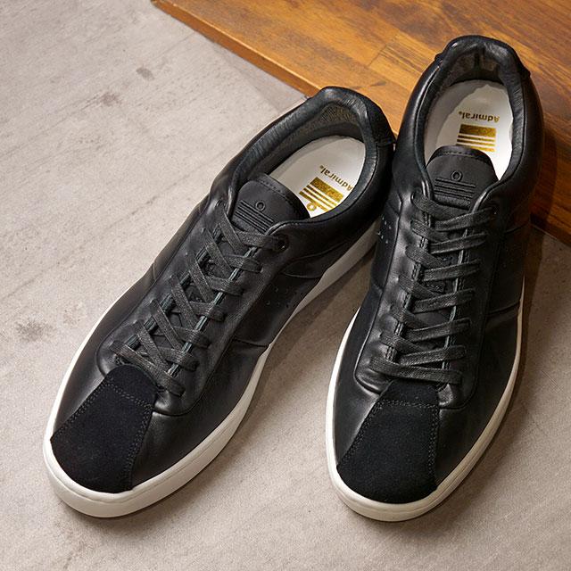 アドミラル Admiral ブリックヤード OX SP BRICKYARD OX SP メンズ・レディース スニーカー 靴 Black ブラック系 (SJAD2004-02 SS20)