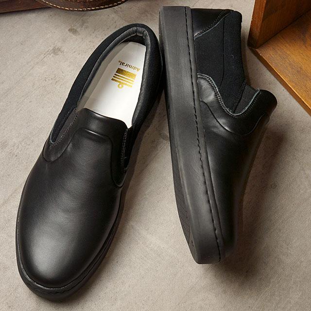 アドミラル Admiral ブリックヤード SO SP BRICKYARD SO SP メンズ・レディース スリッポン スニーカー 靴 Black ブラック系 (SJAD2005-02 SS20)
