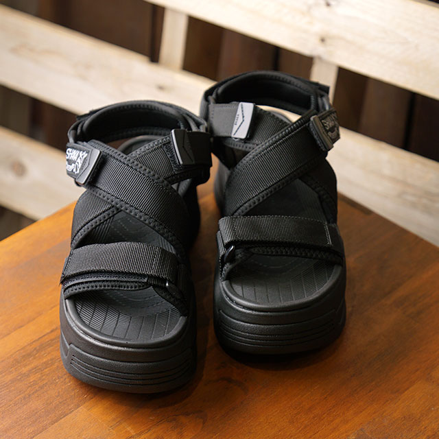 シャカ SHAKA サンダル ネオ フリーフォール チャンキー NEO FREEFALL CHUNKY (433145 SS20) レディース 厚底 スポーツサンダル シューズ 靴 BLACK ブラック系【ts】