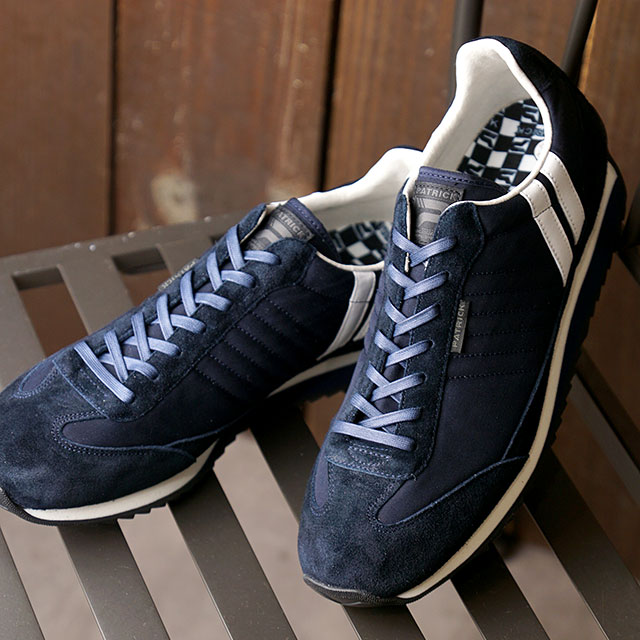 【返品送料無料】パトリック PATRICK スニーカー クールマックス・マラソン C.MAX-MARA (502362 SS20Q2) メンズ・レディース 日本製 靴 NVY ネイビー系