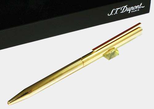 S.T.デュポン/クラシックペン ヴィンテージエディション ボールペン ゴールド 045072A