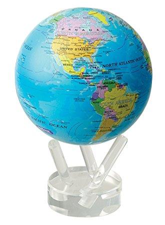 ★MOVA Globe ムーバグローブ11cm★半永久的にゆっくり 回り続ける不思議な地球儀☆Antiqued Beige/ベージュ☆MG45BOE