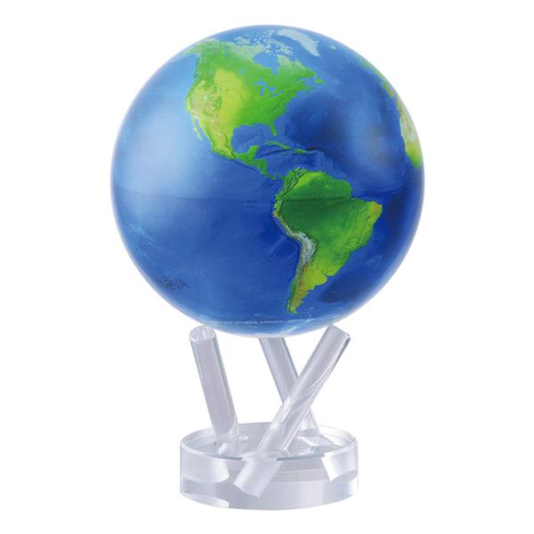 ★MOVA Globe ムーバグローブ11cm★半永久的にゆっくり 回り続ける不思議な地球儀☆Antiqued Beige/ベージュ☆MG45STENE