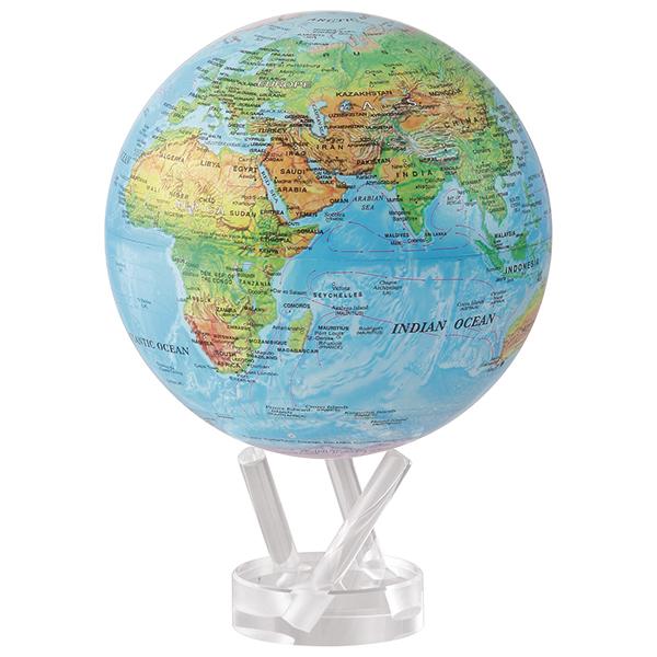 ★MOVA Globe ムーバグローブ15cm★半永久的にゆっくり 回り続ける不思議な地球儀☆Antiqued Beige/ベージュ☆MG6RBE