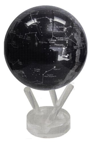 ★電源不要! ゆっくり回る不思議なエコ地球儀! MOVA プラネタリウム 11cm ★MG45STA