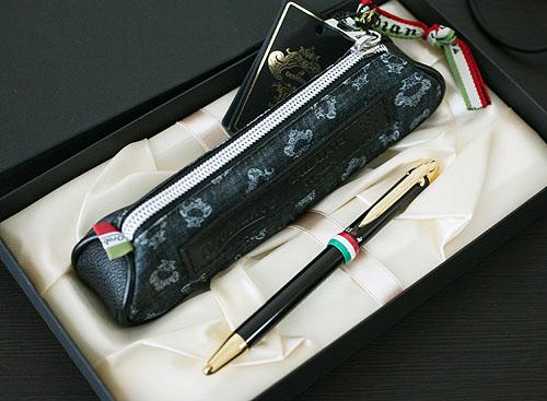 ★オロビアンコ!トリプロ 複合筆記具!ネロ(ブラック)ギフトセット★