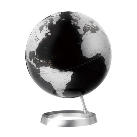 ★アトモスフィア!地球儀 ビジョン メタリックブラック 【イタリア製】★