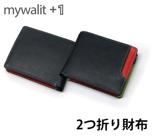 マイウォリット 2つ折り財布 イタリア製カーフスキン mywalit PLUS-1 Standard Wallet w/Box Coin Pocket MY145634