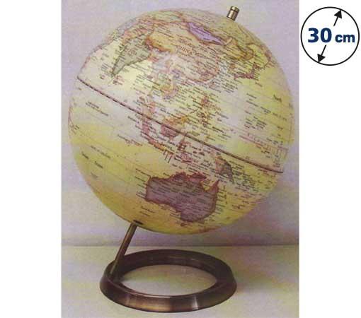 ☆ケイ・コーポレイションの地球儀☆ 球径20cmの2色展開 ★AWインテリア地球儀(L)★(メール便での配送はできません)