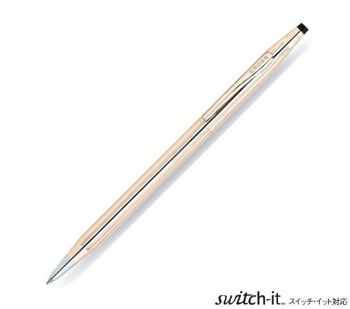 クロス(CROSS)ボールペン 1946年の発表以来不変のシルエットのロングセラー  クラシック センチュリー 14金張 1502