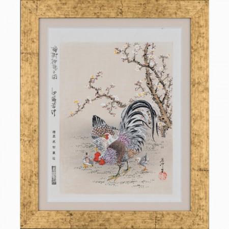 伊藤若冲『梅樹神鶏之図』【掛軸】【通販・販売】