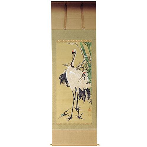 伊藤若冲 『竹梅双鶴図』軸装【掛軸】【通販・販売】