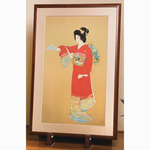 上村松園『序の舞』額装【宮尾登美子 作品】【通販・販売】