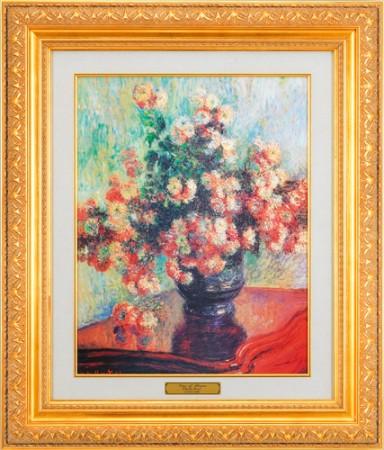 クロード・モネ『花瓶の花』【絵画・複製画】【通販・販売】