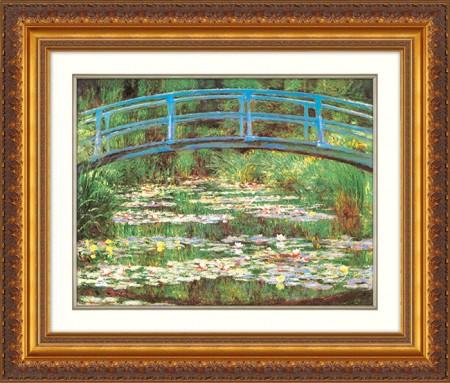 モネ『睡蓮』(ジヴェルニーの日本の橋)【絵画・複製画】【通販・販売】