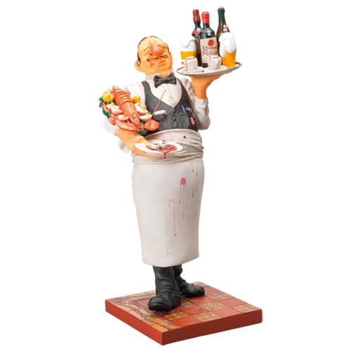 『赤鼻のベテランウェイター』【ギラーモ・フォルチーノ フィギュアコレクション】【通販・販売】