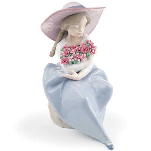 リヤドロ『カーネーション・ブーケ』【人形・置物・花・母の日・贈り物・プレゼント】【通販・販売】