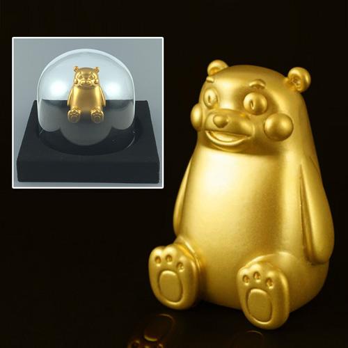 純金置きもの『くまモン』【純金・キャラクター・グッツ・グッズ・置物・飾り物・くまもん・熊本】