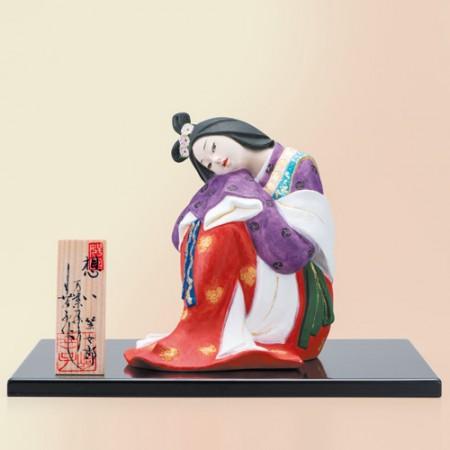 川崎幸子 博多人形『想い』内閣総理大臣賞受賞・伝統工芸士【日本人形・万葉集】【通販・販売】