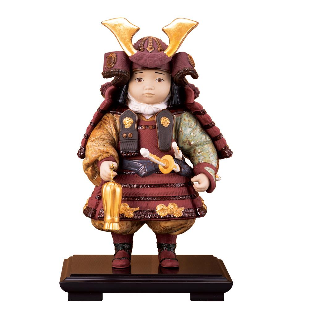 リヤドロ『若武者』60周年記念モデル【リヤドロ・人形・五月人形・・兜・端午の節句・かわいい・人気・スペイン】【通販・販売】