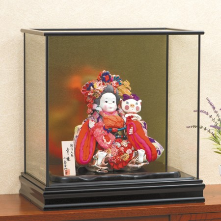 創作人形 幸姫『専用ガラスケース』