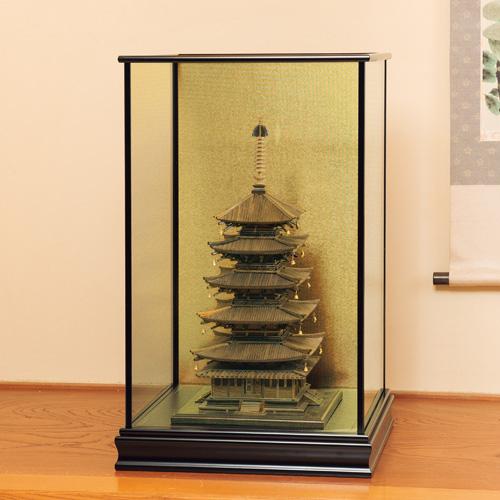 五重塔52cm縮小版『特製ガラスケース』【通販・販売】