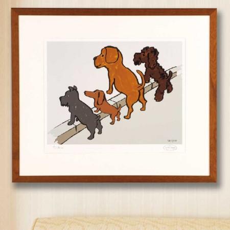サヴィニャック『4匹の犬』【通販・販売】