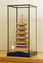 五重塔『専用ガラスケース』
