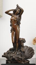 ***まぶしい裸身から匂いたつ官能の美*** ブロンズ『裸身の女神』【女性像】【通販・販売】
