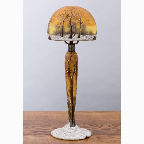 ドーム兄弟『冬風景文ランプ』【限定1・ランプ】【通販・販売】