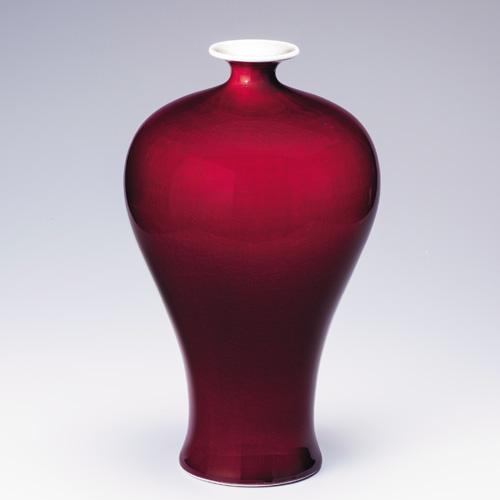 劉彩萍『郎窯紅梅瓶』【通販・販売】