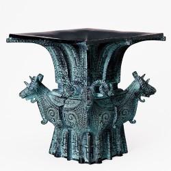 青銅器『四羊尊』 【古墳時代・土偶・青銅】【通販・販売】