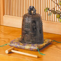 高岡銅器銅製 梵鐘『天女』【仏具】【通販・販売】