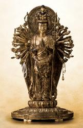 品質一番の 樟樟 金泥古色仕上げ『千手観音菩薩立像』, リネンハウス:00f89b5a --- blablagames.net