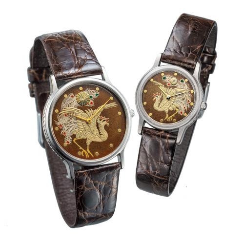 天皇陛下橋寿記念 銀無垢時計『栄光の鳳凰』単品(男性用・女性用)【腕時計】【通販・販売】