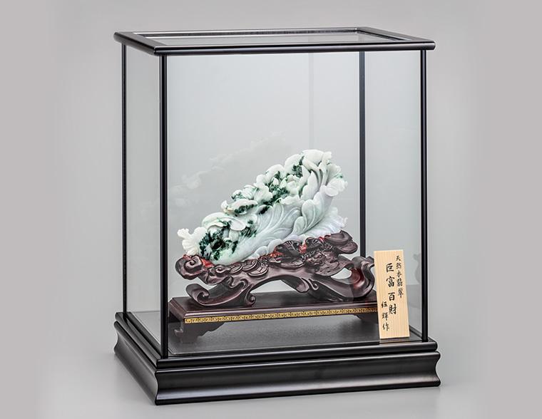 『巨富百財』ガラスケース 【通販・販売】