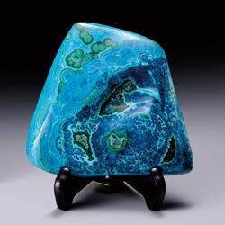天然石『クリソコラ』塊【アメリカ・アリゾナ州産・宇宙・地球・青い・蒼い】【通販・販売】