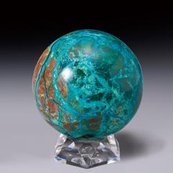 天然石『クリソコラ』丸珠