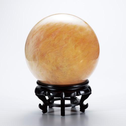 吉祥大珠『黄金水晶珠』仰天の直径20cm以上【丸珠・水晶】【通販・販売】, ショップUQ bb9777a8