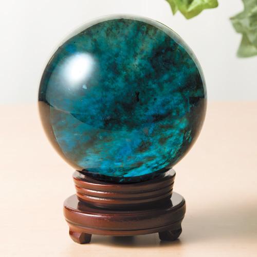 『ブルークォーツ丸珠』【天然石・パワーストーン】【通販・販売】